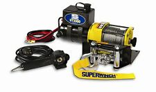 Power Winch Electric ATV Boat Trailer Mount Hand Remote Cable Truck 3000 lb New