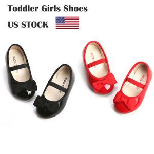 Kids Flats Toddler Girl Mary Jane Black