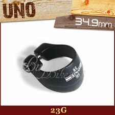 23G UNO BLACK SEATPOST CLAMP 34.9MM BIKE ROAD MTB for 30.9mm or 31.6mm