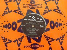 "aquanauts - the swimmer - zoom records promo 12"" vinyl"