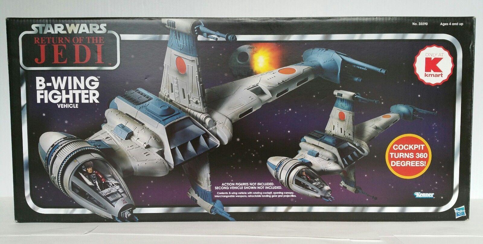 Star Wars Vintage Collection ROTJ B WING FIGHTER K MART EXCLU. NEW SEALED