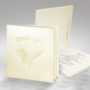 Einladungskarten Hochzeit Fe46r Mit Umschlag