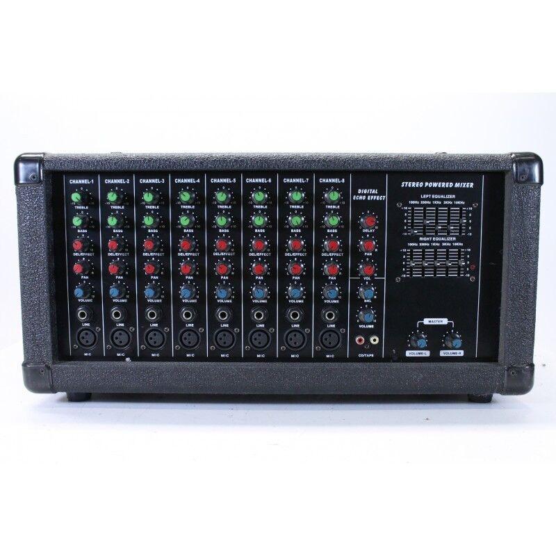 DAP Audio - CSS-8S - Stereo Powerot Mixer