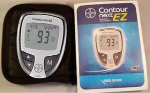 Contour Next Ez Blood Glucose Monitor System Diabetes
