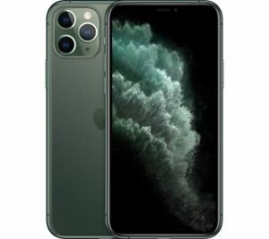 APPLE iPhone 11 Pro - 64 GB Mobile Smart Phone Midnight Green - Currys