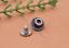10X-Silver-Tone-Flower-Leather-Craft-Bag-Belt-Purse-Decor-Turquoise-Conchos-Set miniature 72