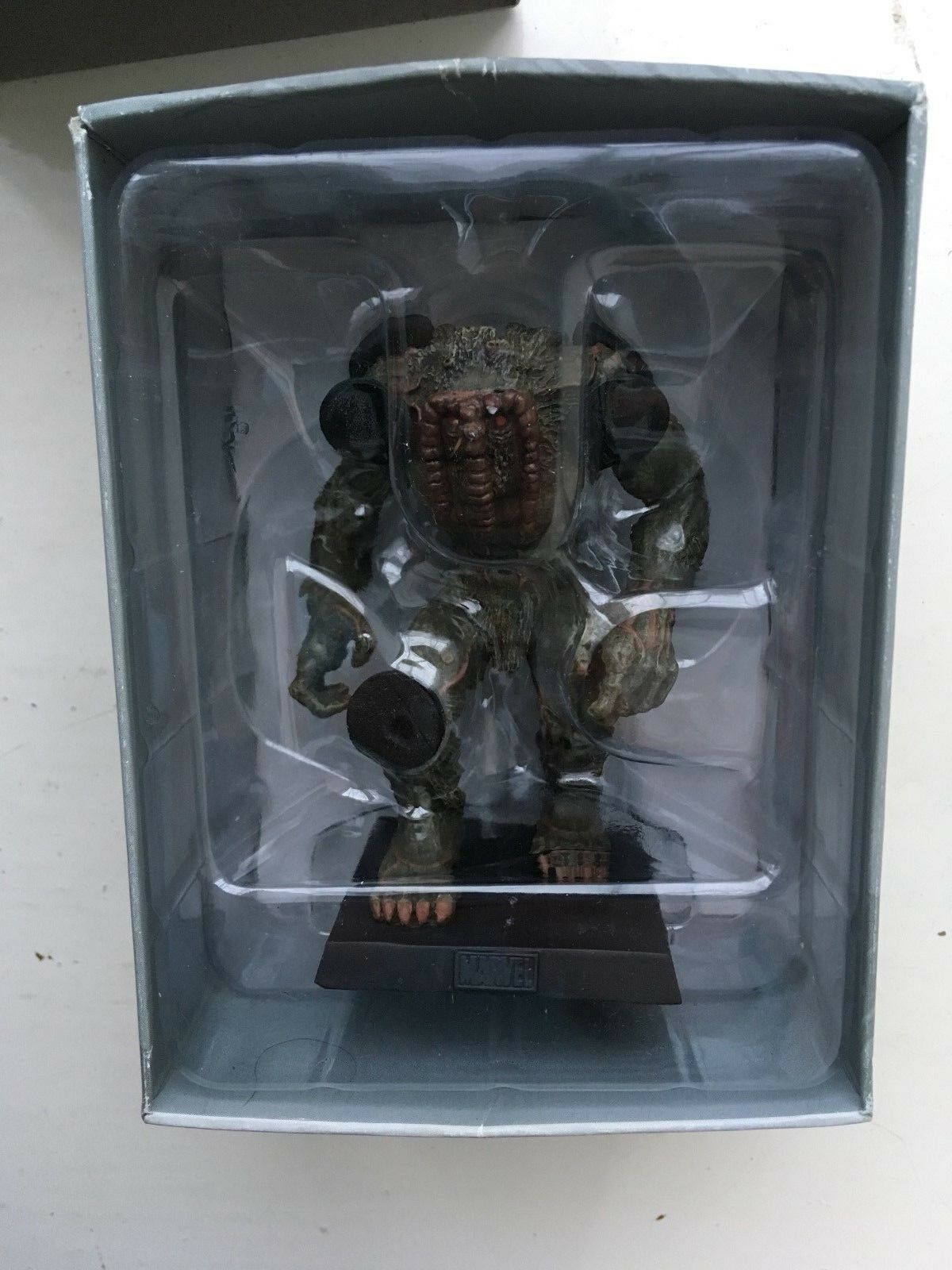 MARVEL FIGURINE COLLECTION SPECIAL ISSUE THE MAN-THING EAGLEMOSS FIGURE + MAG