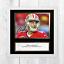 JIMMY-GAROPPOLO-NFL-San-Francisco-49ers-ENCADREE-NON-encadre-signe-Poster-10-034-x-10-034 miniature 4
