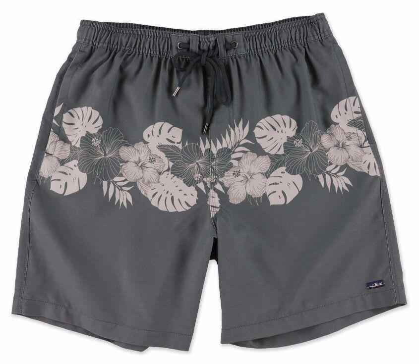 O'Neill MAKENA Mens 100% Polyester Boardshorts Size Medium Dark Charcoal NEW