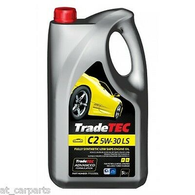 TradeTec C2 5w-30 Low Saps 5L Fully Synthetic Engine Oil