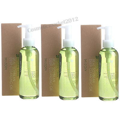 Mizon Real Soy Bean Deep Cleansing Oil 200ml 3pcs wholesale
