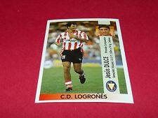 JESUS DULCE C.D. LOGRONES PANINI LIGA 96-97 ESPANA 1996-1997 FOOTBALL