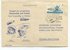 1962 Drucksache Triumph Sowjetischen Wissenschaft Technik Weltraum Space Nasa Soulager La Chaleur Et La Soif.