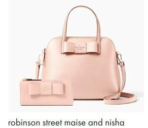 Wallet Nisha Nwt Spade Robinson Street Warm y Maise Kate Vellum OTYqx
