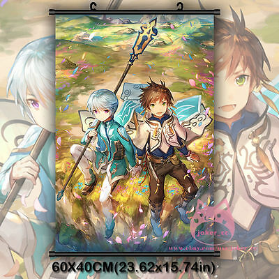 Tales Of Berseria Velvet Crowe Japan Anime Poster Game Wall Scroll Decor 60*90cm