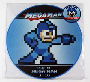 Mega-Man-Best-of-1-10-Vinyl-LP-PICTURE-DISC-NEW-NES-NINTENDO-GAME-SOUNDTRACK
