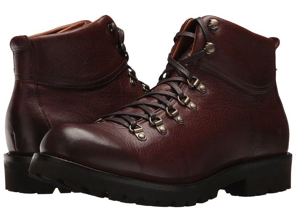 Frye Mens Earl Marroneee Leather Hiker Winter Snow stivali 9.5 NEW IN BOX