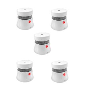 5x Brennenstuhl Rauchmelder Feuermelder inkl. 5 Jahre Lithium Batterie EN-14604