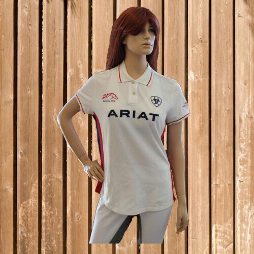 Ariat Polo Shirt Damen, Ariat T-Shirt, weiß, Reitbekleidung