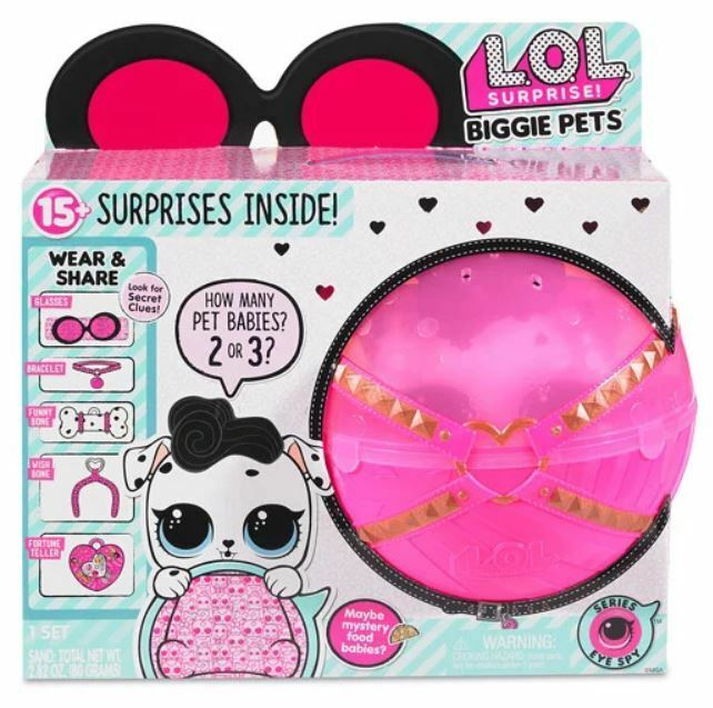LoL Surprise dolls BIGGIE PETS DOG DOG DOG CANE bambola XXL 15 GIOCO CRICETO BUNNY KITTY 3ebb0c