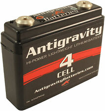 Antigravity Batteries AG401 4 Cell Lithium Ion Small Case Motorcycle Battery USA