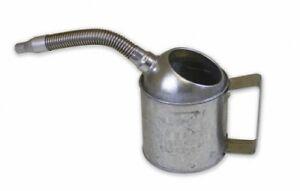 94484 Funnel King 1 quart Measure Can with Flex Spout, Galvanized, Heavy Duty