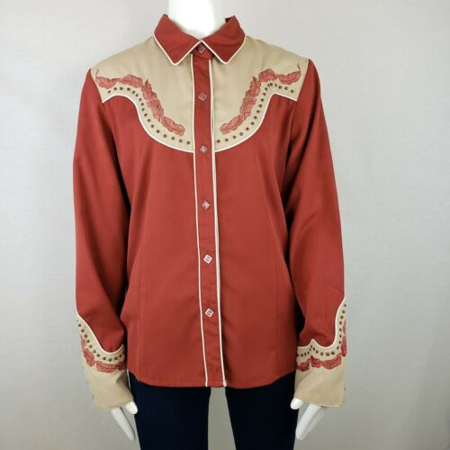 Scully Vintage Western Shirt Large