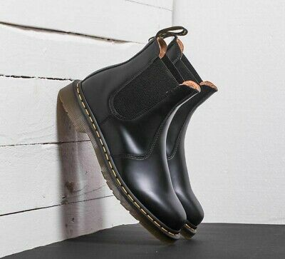 2976 yellow stitch chelsea boots womens