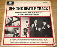 GEORGE MARTIN OFF THE TRACK SIGNED UK COLUMBIA LP BEATLES UACC REGISTERED DEALER