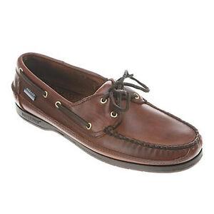 Men-039-s-Sebago-Brown-Waxy-Schooner-Deck-Casual-Boat-Shoes-PERFECT-GIFT-IDEA