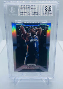 2019-20-PANINI-PRIZM-ZION-WILLIAMSON-SILVER-248-ROOKIE-RC-BGS-8-5-NM-MINT-PSA