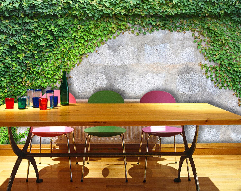 3D greene Blattwand 52 Tapete Tapeten Mauer Foto Familie Tapete Wandgemälde DE