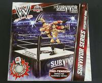 - Wwe Mattel Wrestling Survivor Series Superstar Ring 2007 - Free Shipping