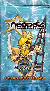 NEOPETS-TCG-Curse-of-Maraqua-BOOSTER-PACK-w-code-card-RARE