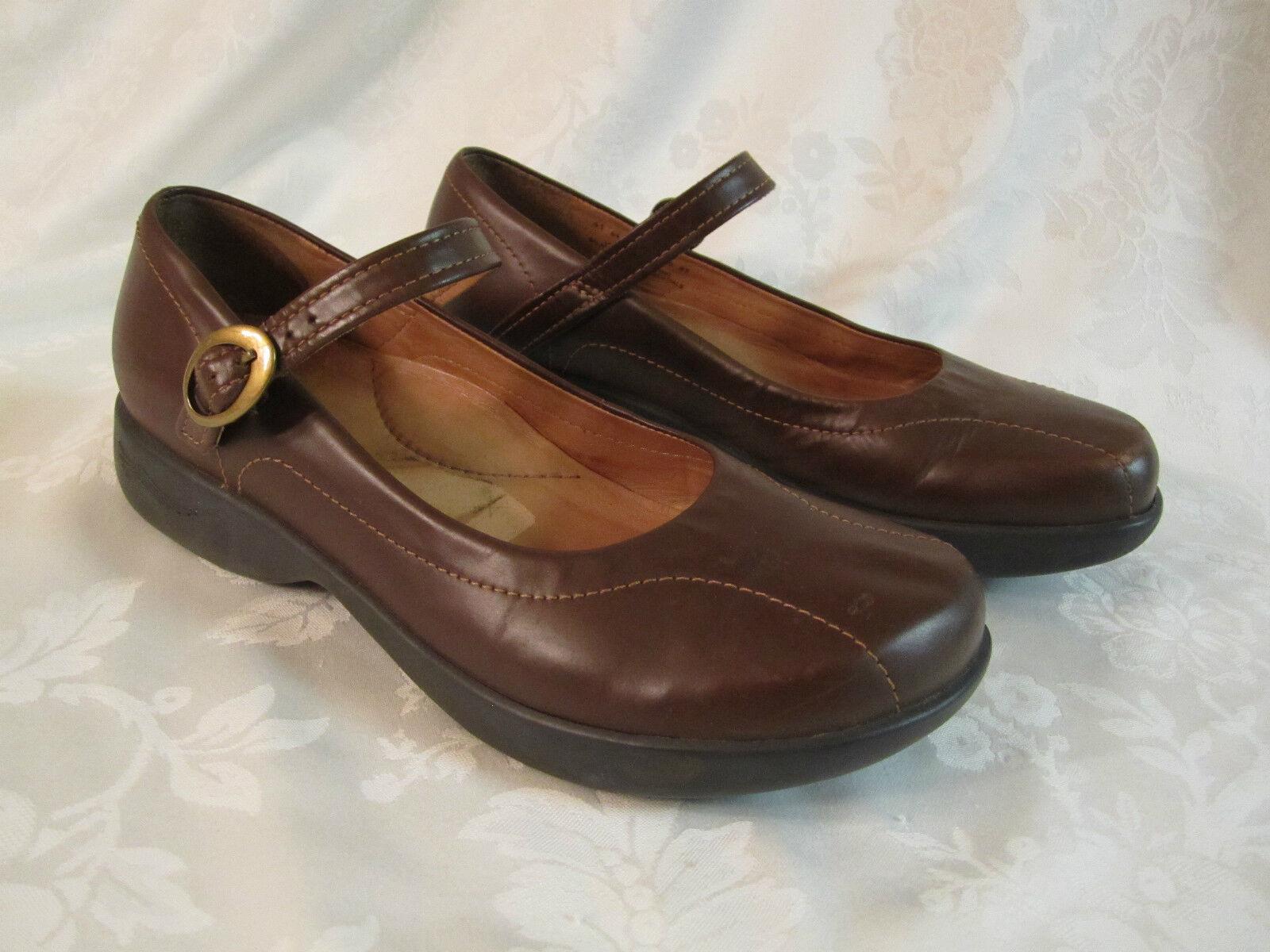 Dansko donna 65533;s Mary Jane scarpe Beautiful Dark  Marronee Leather Dimensione 41 ICE  grandi risparmi