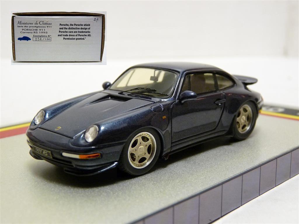 Heco Miniatures Du Chateau 1  43 Porsche 911 bilrera RS hkonsts Handgjort modellllerlerl Bil