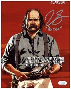 Jim Santangeli Autograph Signed 8x10 Photo - Red Dead Redemption 2 (JSA COA)