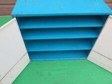 Parts Metal Wall Ignition 4 Shelf Enclose Cabinet Hardware Tool Storage Organize