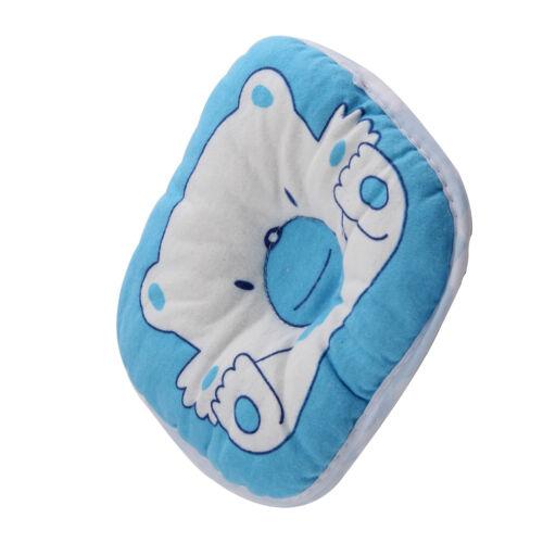 Cushion Pad Bear Shape Pillow Newborn Infant Baby Head Support Prevent Flat #FAX