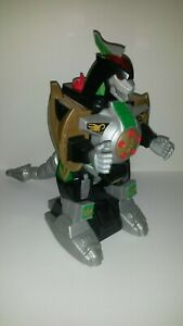 Mighty Morphin Power Rangers Dragonzord Mattel 2015 Working Incomplete