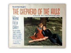 034-The-Shepherd-Of-The-Hills-034-Original-11x14-Authentic-Lobby-Card-Poster-1955-John