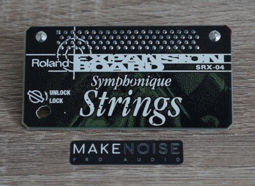 Fantom XV XV5080 XV3080 SRX04 Roland SRX-04 Symphonic Strings Expansion Board