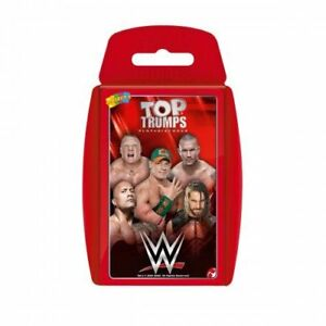Top Trumps WWE Card Game New Sealed