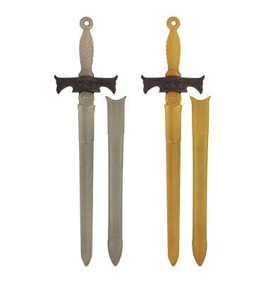 PIRATE SET FANCY DRESS PLASTIC SWORD SKULL EYE PATCH AND EARRING CUTLASS SWORD