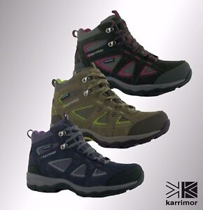 Image is loading New-Ladies-Branded-Karrimor-Breathable-Mountain-Mid-Top- 29fd033e99e1