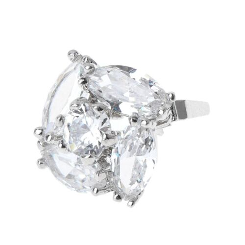 1x Rhinestone Alloy Glass Shoe Clips Elegant Ornaments Clamp Buckle Decoration