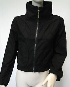 Veste coton noir femme