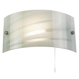liberee-SALSA-1-Litre-Lampe-Murale-40W-a-motif-Gloss-verre-blanc-amp-chrome-satine