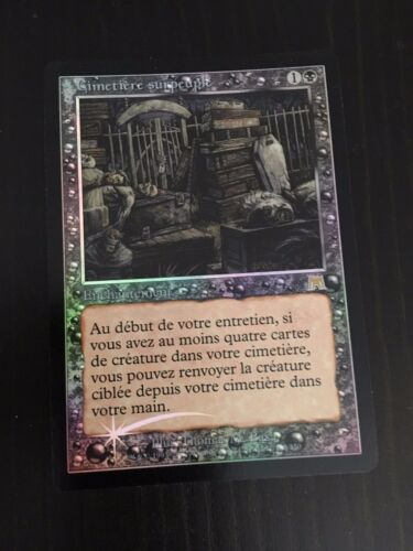 FRENCH CIMETIERE SURPEUPLE NM FOIL MTG ONSLAUGHT OVERSOLD CEMETERY