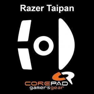 Corepad-Skatez-Razer-Taipan-Ersatz-Teflon-Mausfuesse-Hyperglides-Hyperglide